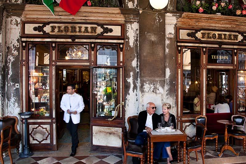 کافه های ونیز