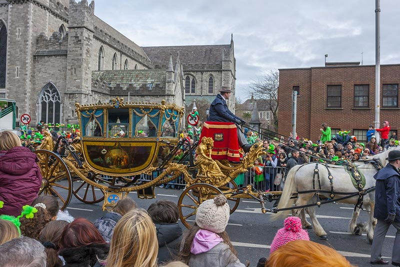 جشن روز سنت پاتریک ایرلند