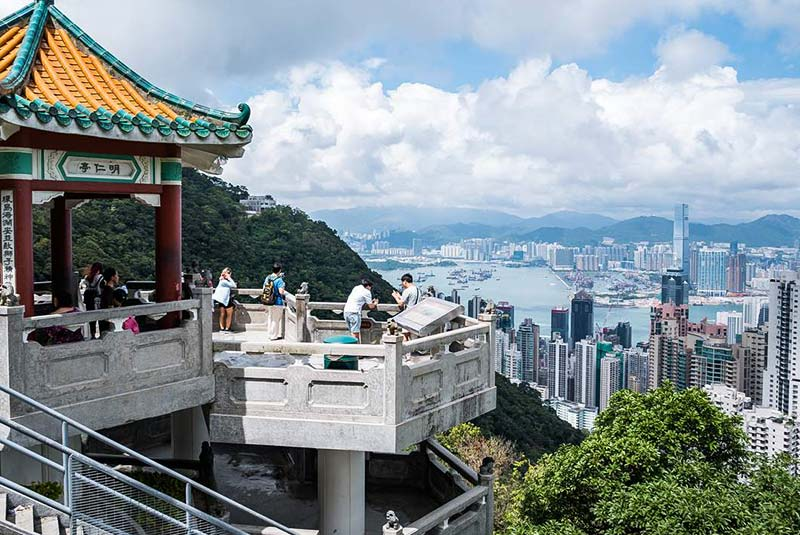 قله ویکتوریا در هنگ کنگ