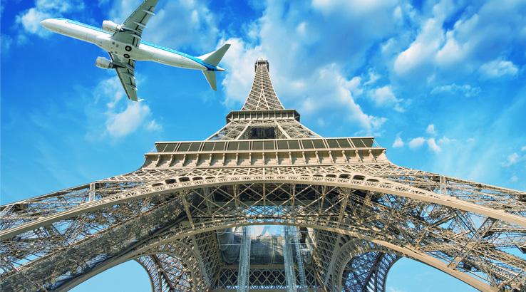 خرید بلیط هواپیما پاریس