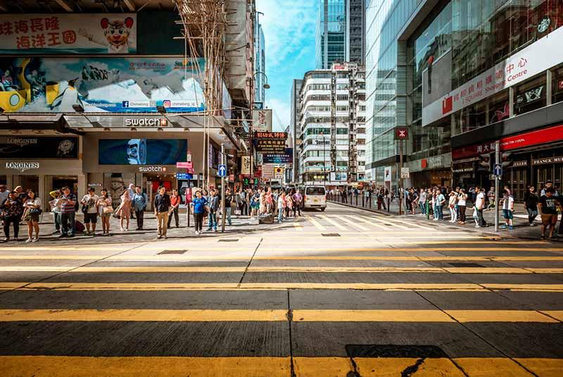 محله سیم شا سویی در هنگ کنگ
