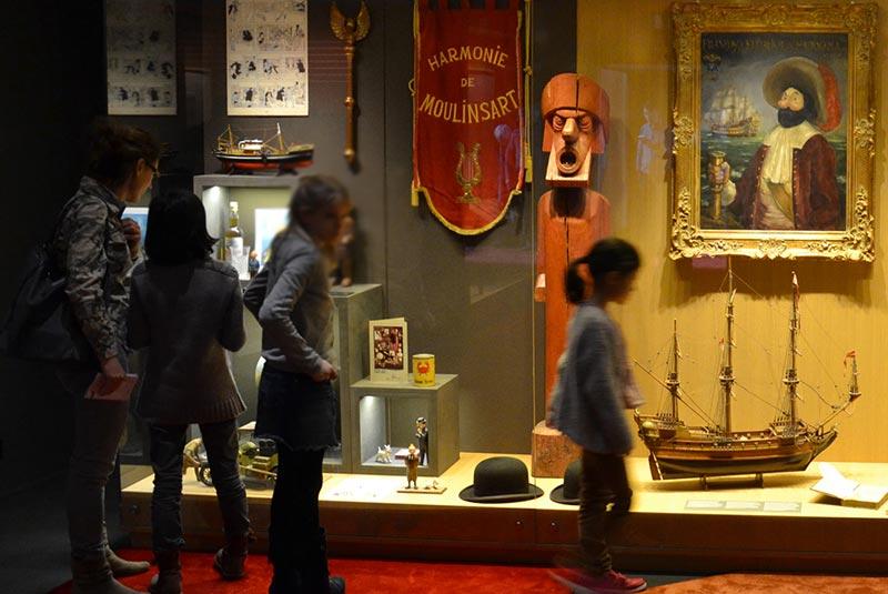 موزه تن تن در بروکسل