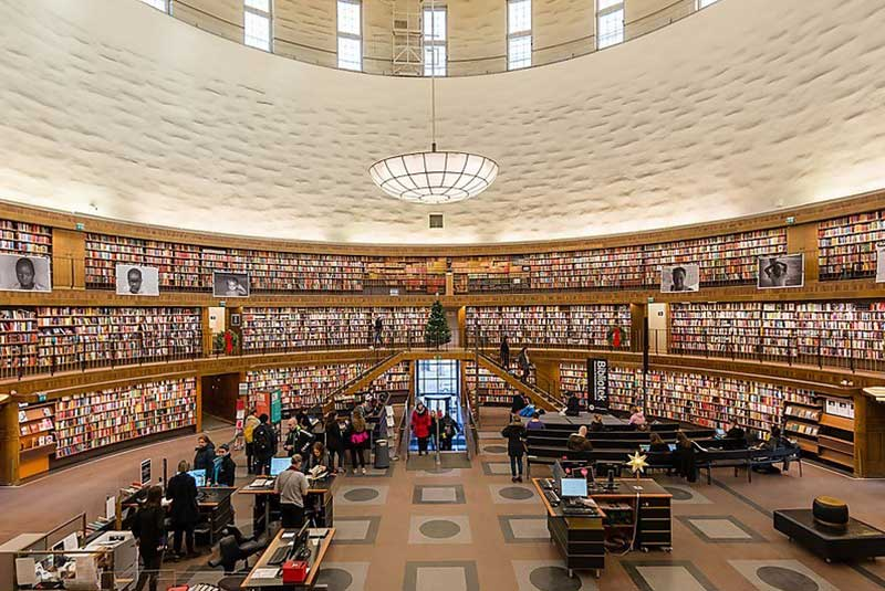 کتابخانه عمومی استکهلم