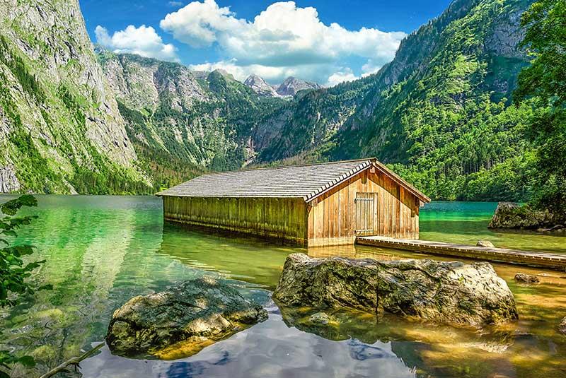 دریاچه اوبرزی درآلمان