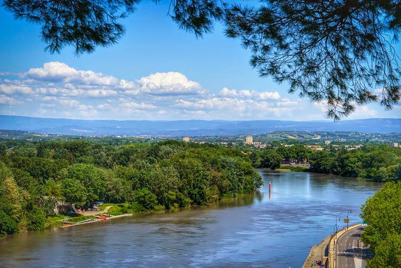رودخانه رون فرانسه