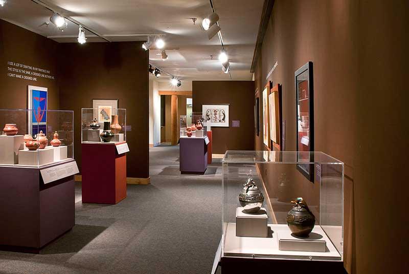 موزه هنر و فرهنگ سرخپوستان در نیومکزیکو