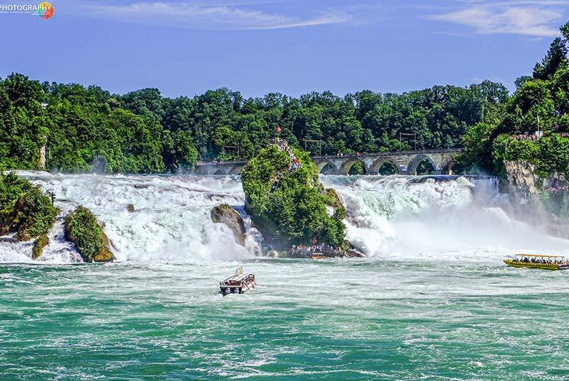 آبشار راین سوئیس
