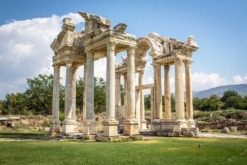 محوطه های باستانی در ترکیه