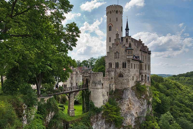 قلعه لیختنشتاین در آلمان