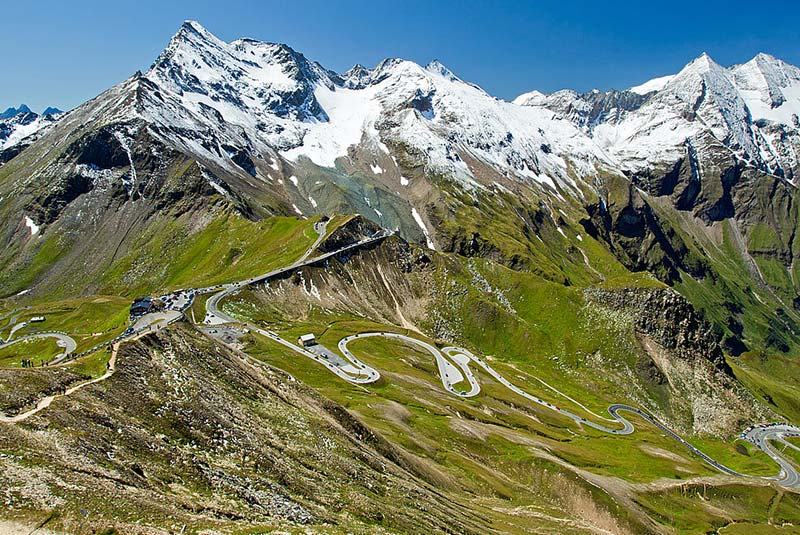 مسیر گروسگلوکنر هوخالپن شتراسه در اتریش