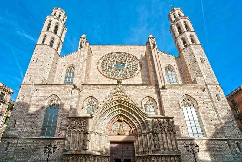 کلیسای سانتا ماریا دل مار در بارسلون