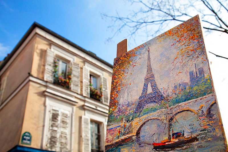 سوغات پاریس فرانسه