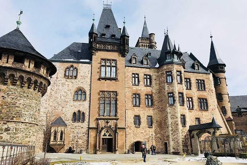 قلعه ورنیگروده در آلمان