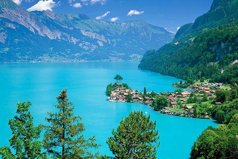 دریاچه برینز سوئیس