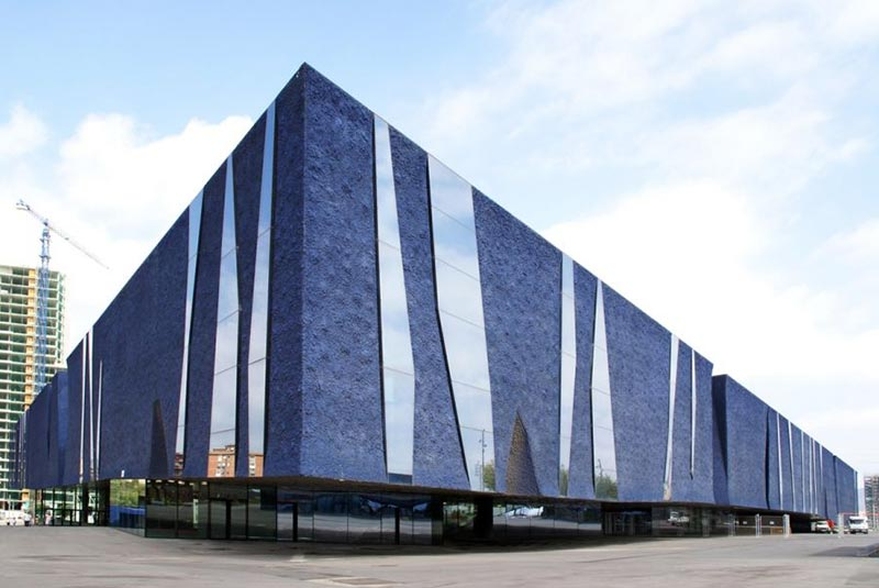 ساختمان فوروم در بارسلونا