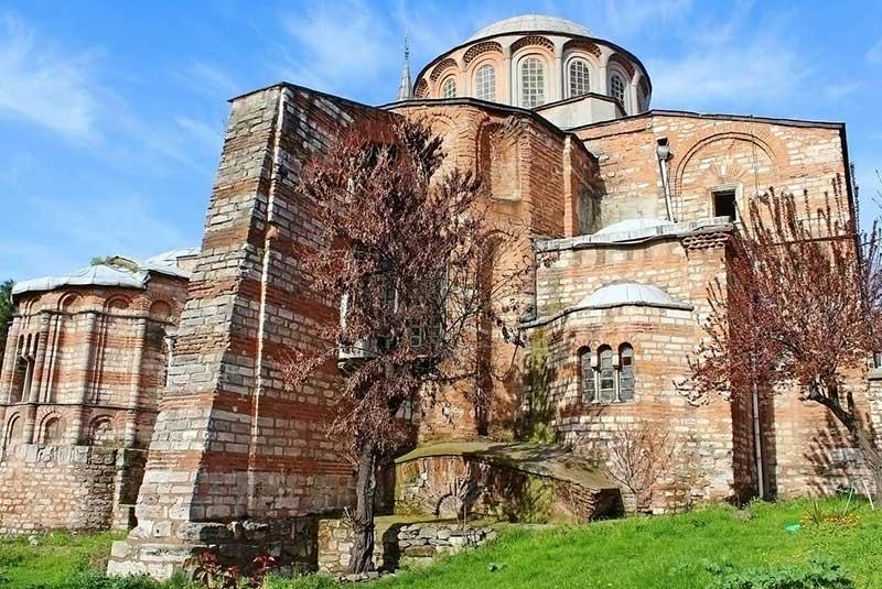 کلیسای کورا در استانبول