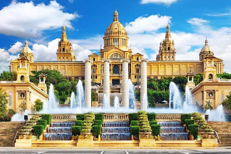 کاخ ملی در بارسلون