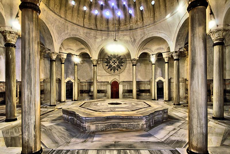 حمام های ترکی استانبول