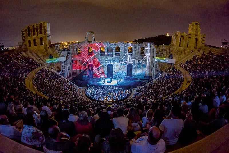 اودئون هرودس آتیکوس در یونان
