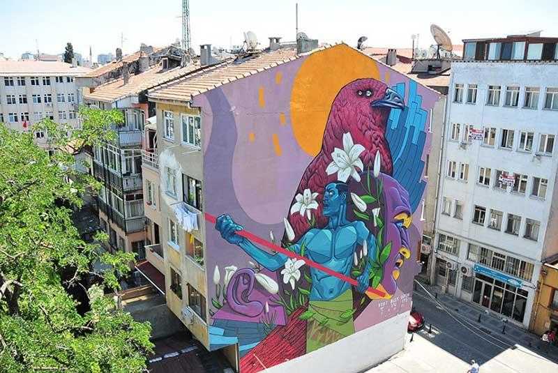 هنر خیابانی در استانبول