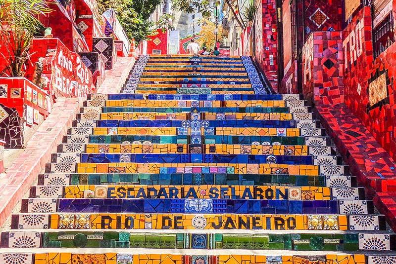 پله های سلارون در ریودوژانیرو