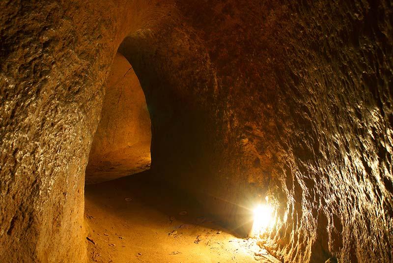 تونل های کوچی هوشی مین