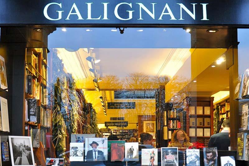 کتاب فروشی گالینانی پاریس برای استایلیست ها
