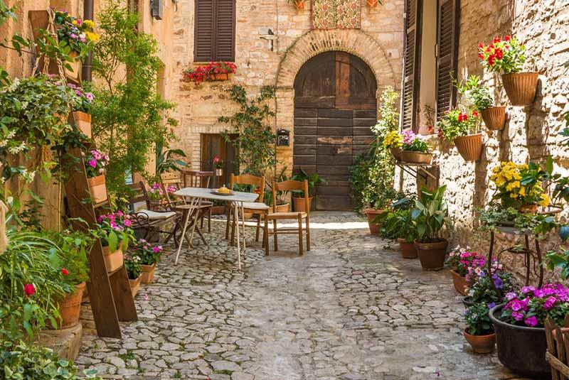 محله های خلوت رم، فرار از شلوغی رم