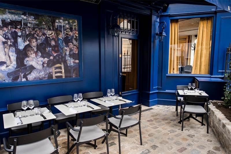 رستوران مولن دو لا گلت