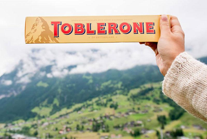 شکلات هرمی تابلرون