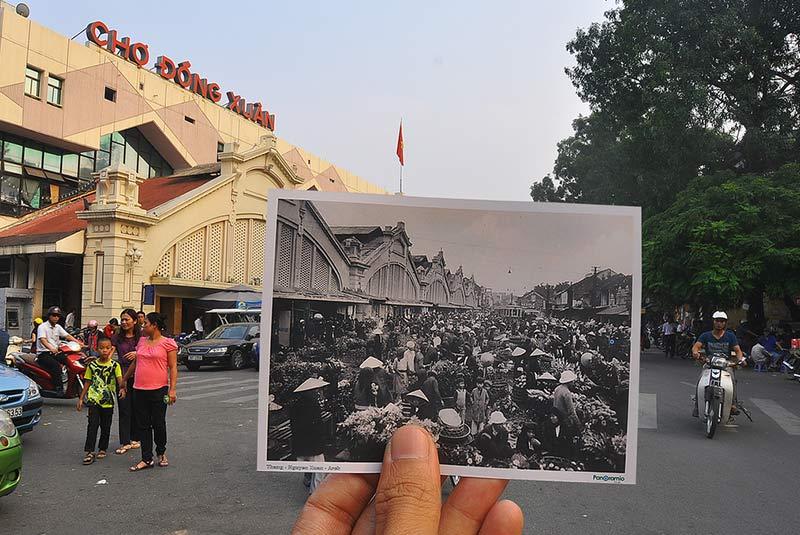 بازار دونگ ژوان هانوی