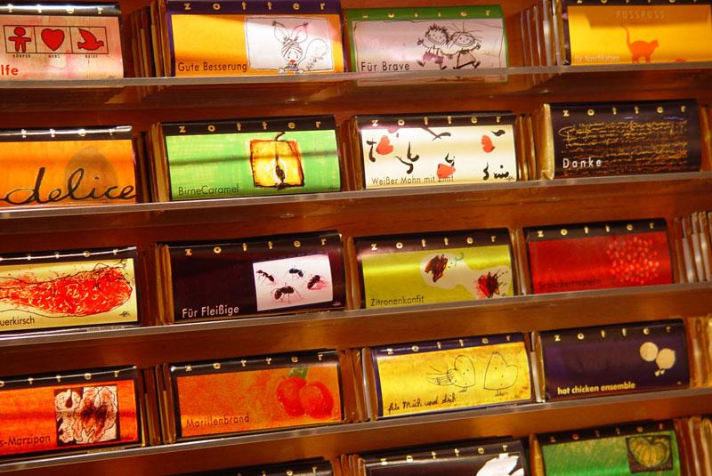 شکلات فروشی وین