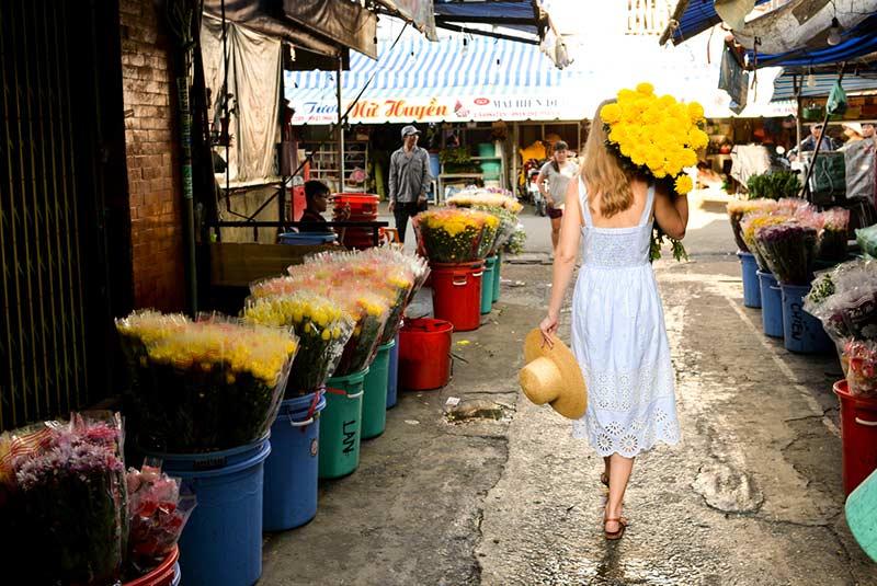 بازار گل هو تی کی هوشی مین