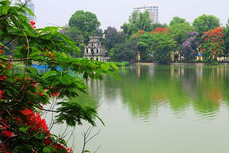 دریاچه هوان کیم و معبد انگوک سان