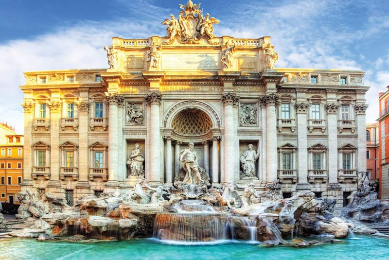 جاذبه های رم