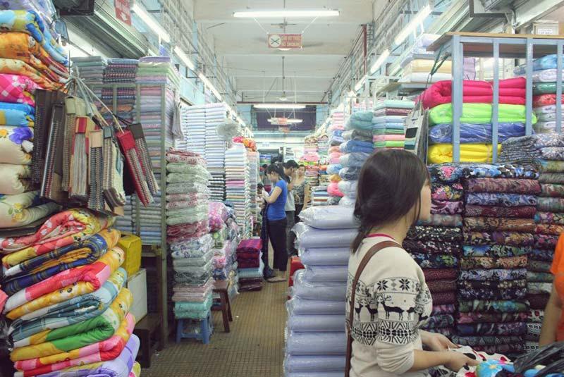 بازار پارچه سوآی کین لام هوشی مین