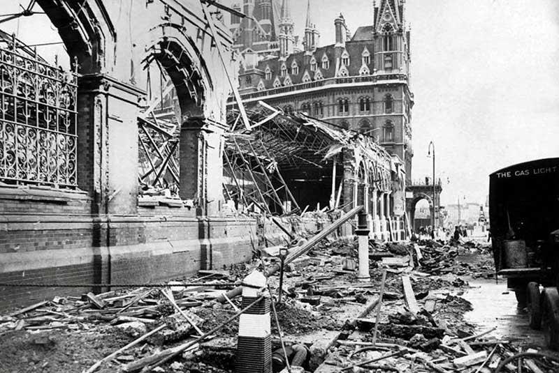 تخریب سنت پانکراس در جنگ جهانی