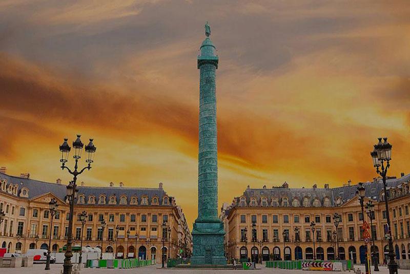 پلِز وندوم پاریس برای استایلیست ها