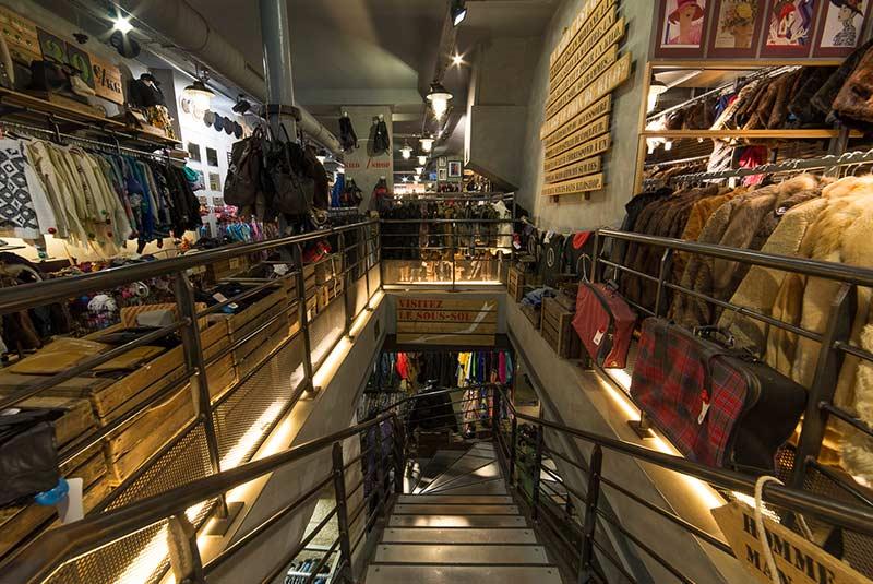 بوتیک ها و فروشگاه های بزرگ پاریس