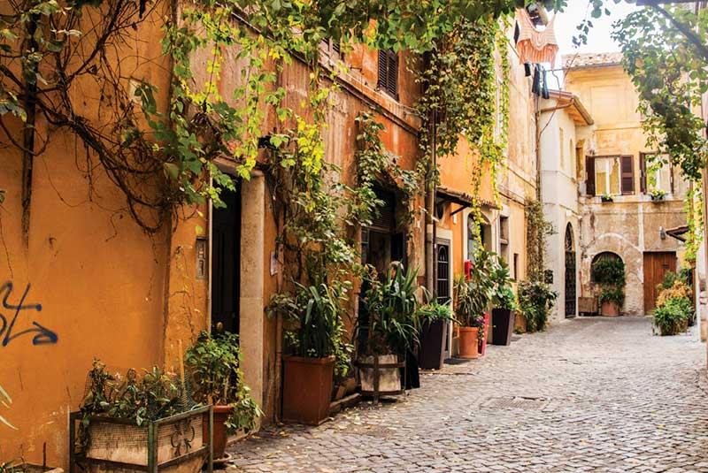 محله های رم