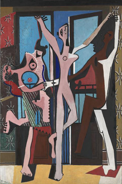 سه رقصنده، پیکاسو