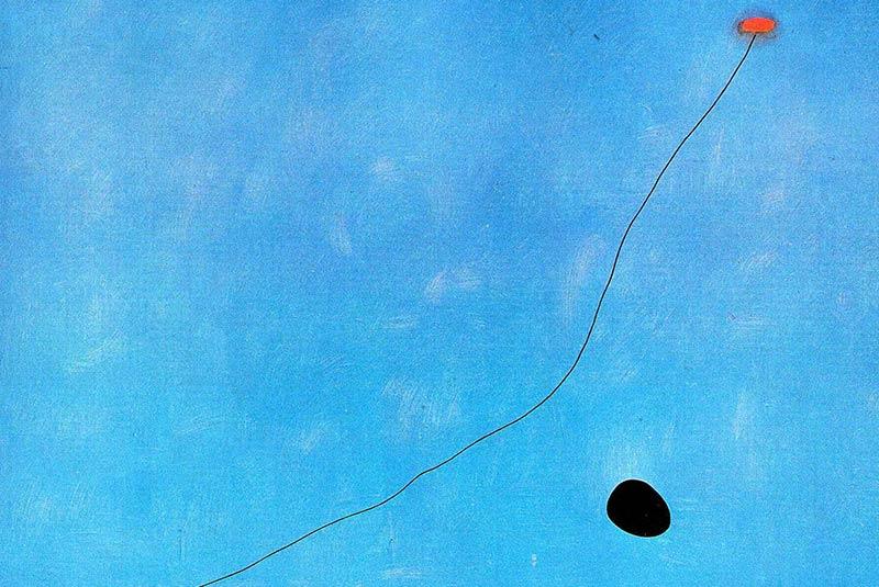 خوان میرو، آبی