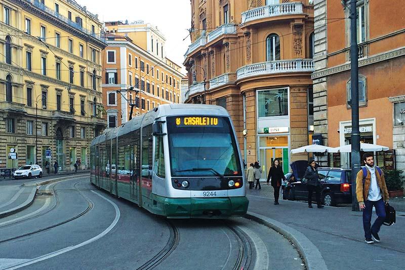 تراموا در رم