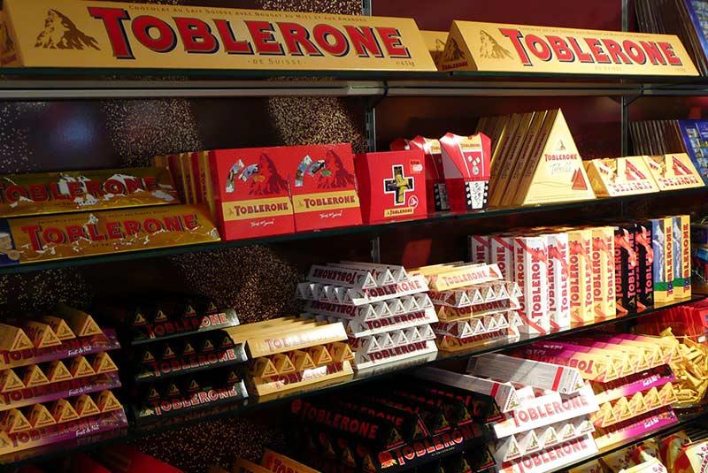 شکلات مثلثی تابلرون