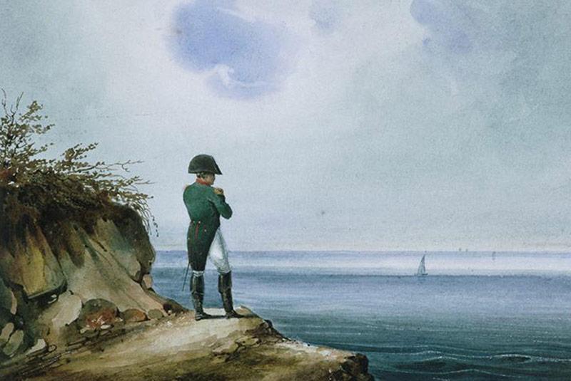 تبعید ناپلئون بناپارت