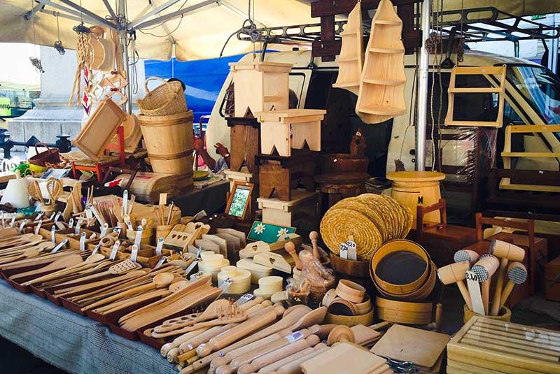 بازار صنعتگران سانتو اسپیریتو