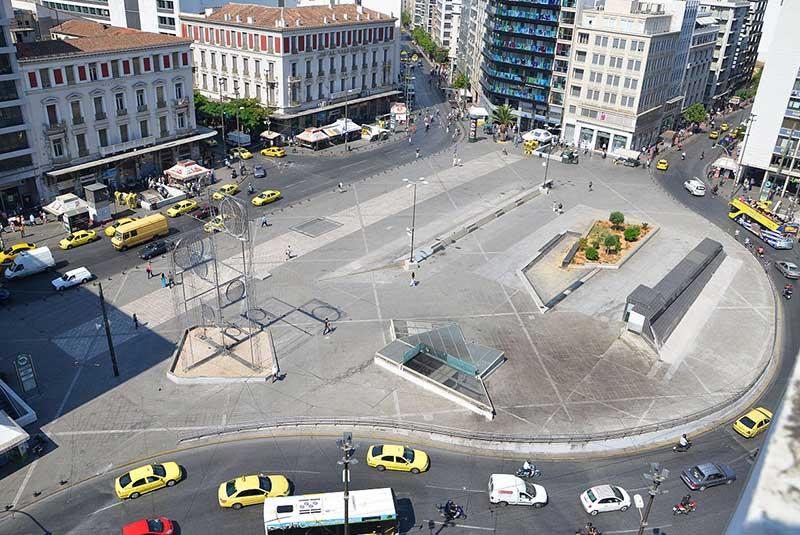 میدان اومونیا آتن