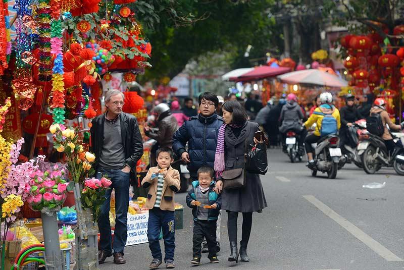 محله قدیمی هانوی، سال نو تت
