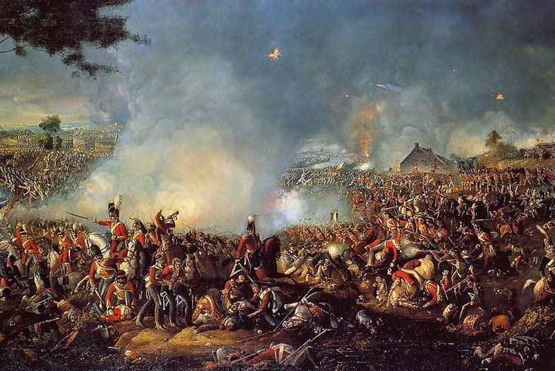جنگ واترلو، ناپلئون بناپارت