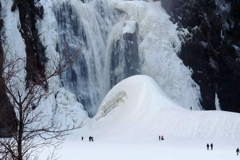 آبشار مونت مورنسی